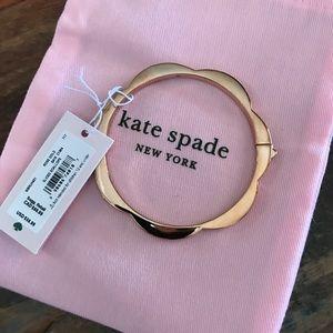 Kate Spade ♠️ Rose Gold Hinge Bangle